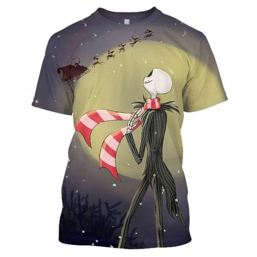 The nightmare before christmas jack skellington 3d shirt