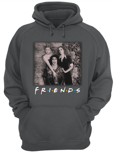 The rocky horror picture show friends movie hoodie