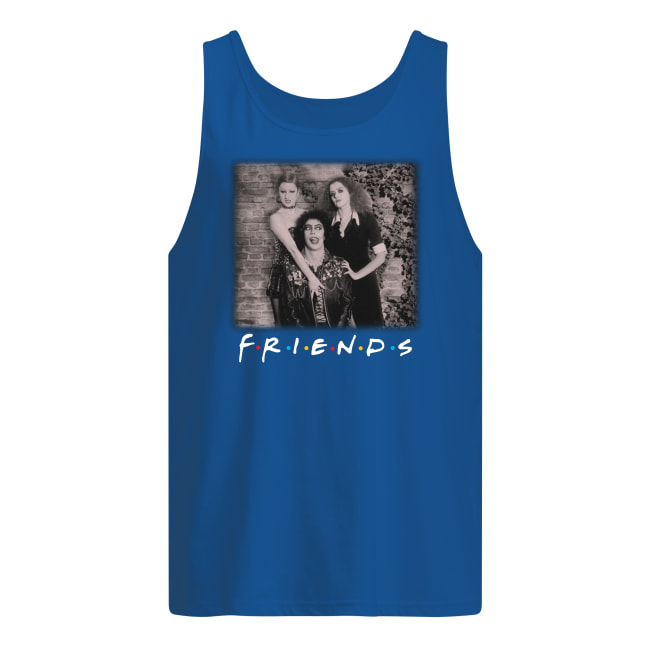 The rocky horror picture show friends movie tank top