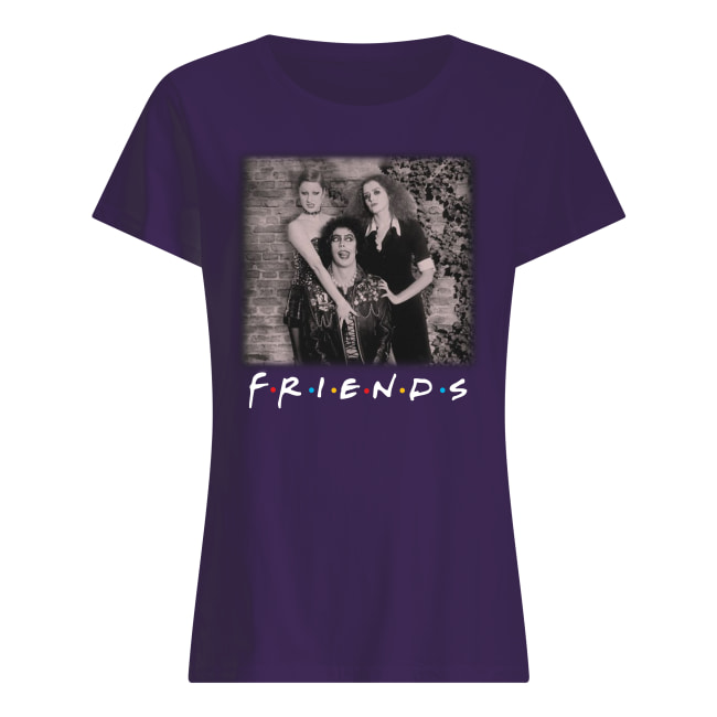 The rocky horror picture show friends movie women's shirt