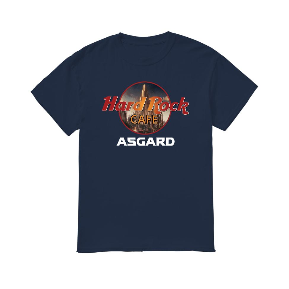 Thor asgard hard rock cafe asgard men's shirt