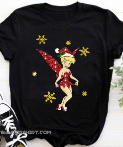 Tinkerbell merry christmas shirt