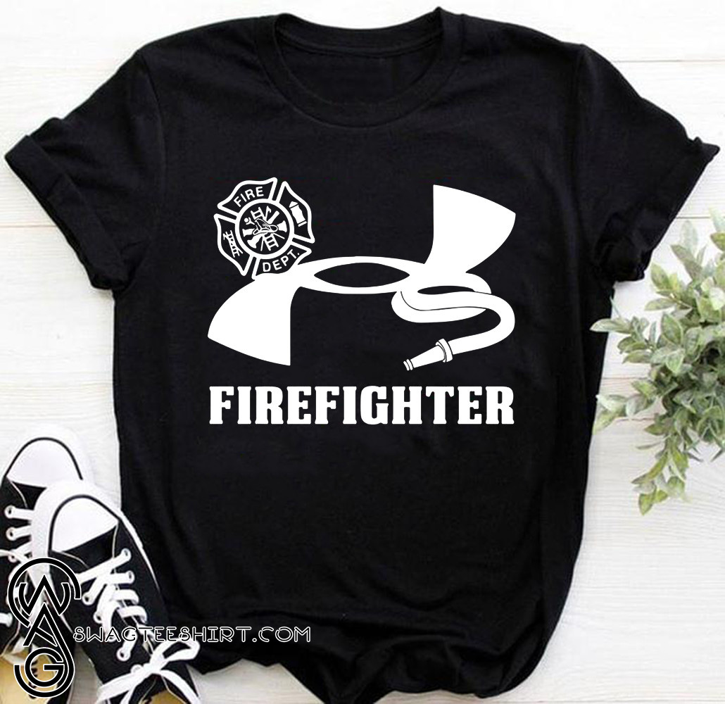 Under armour firefighter shirt