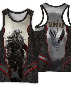 Viking 3d all over printed tank top