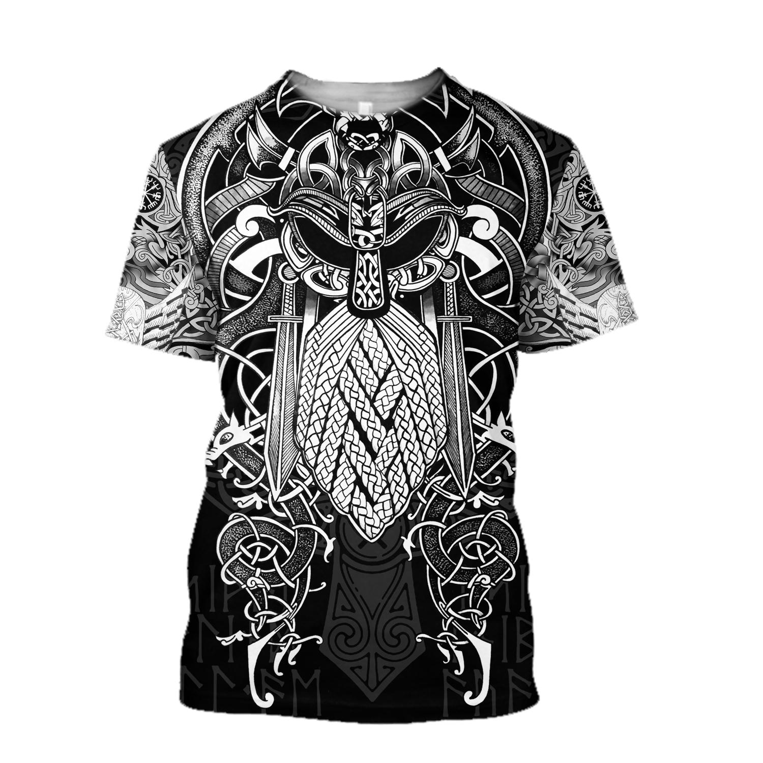 Viking odin 3d t-shirt