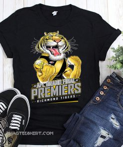 20 AFL grand final premiers richmond tigers shirt
