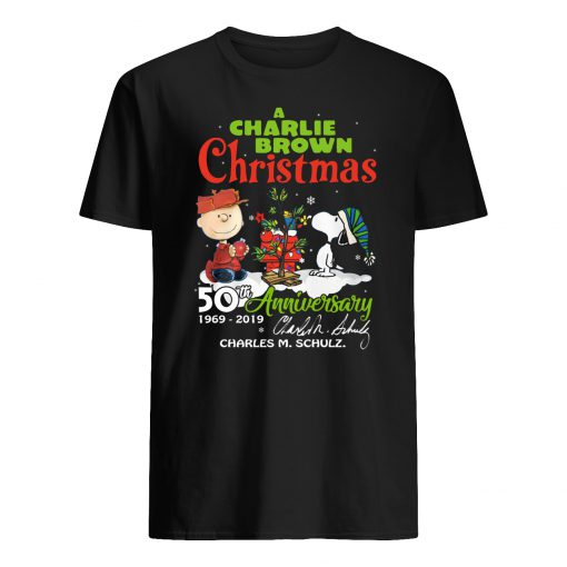 A charlie brown christmas 50th anniversary mens shirt
