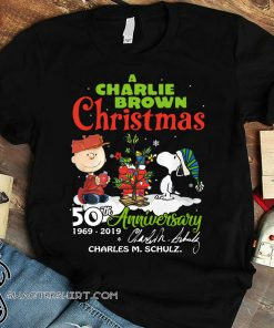 A charlie brown christmas 50th anniversary shirt