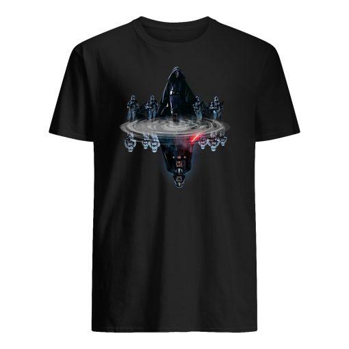 Anakin skywalker water mirror darth vader star wars mens shirt