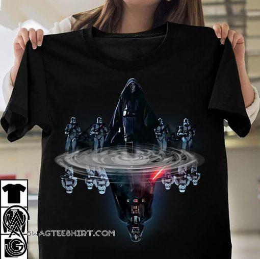 Anakin skywalker water mirror darth vader star wars shirt