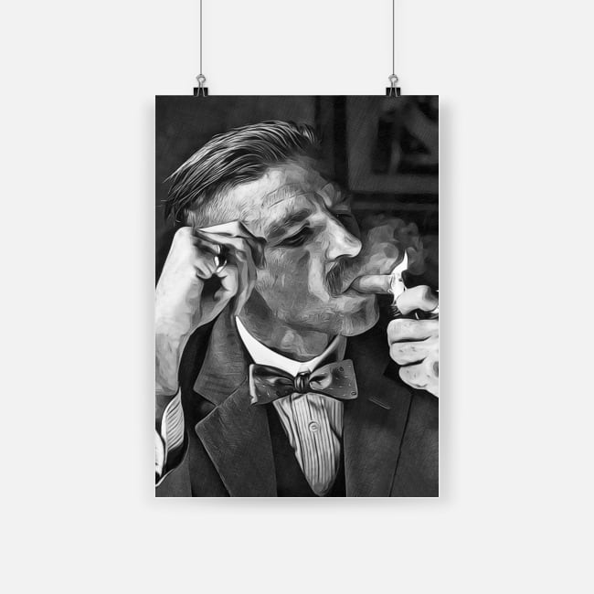 Arthur shelby peaky blinders sketch art picture poster - a1