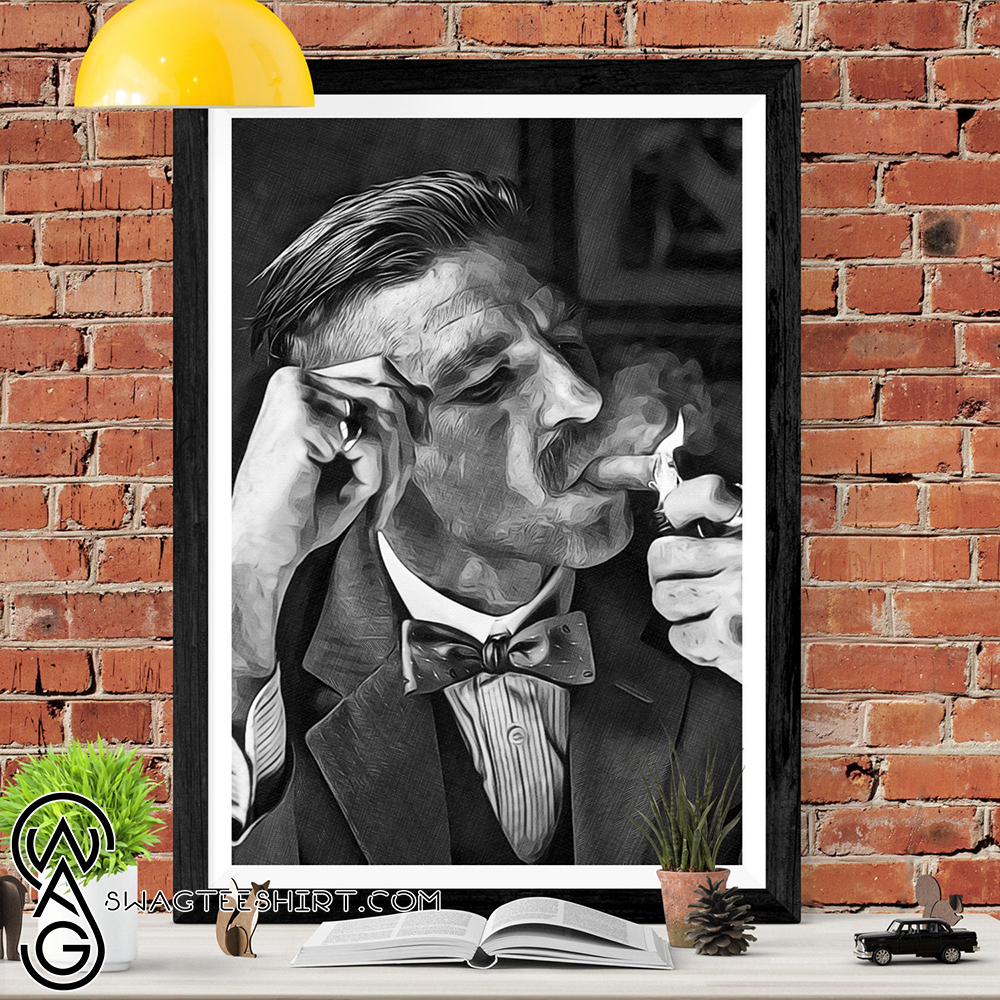 Arthur shelby peaky blinders sketch art picture poster