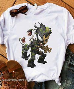 Baby groot and venom shirt