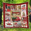 Christmas hallmark the best memories are made on farm quilt