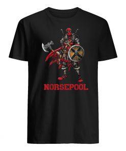 Deadpool norsepool viking mens shirt
