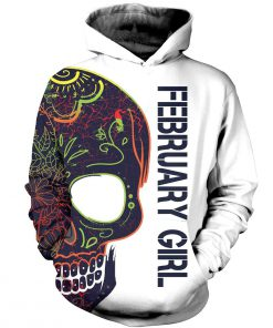 February girl with tatoos pretty eyes and thick thighs 3d hoodie - 2