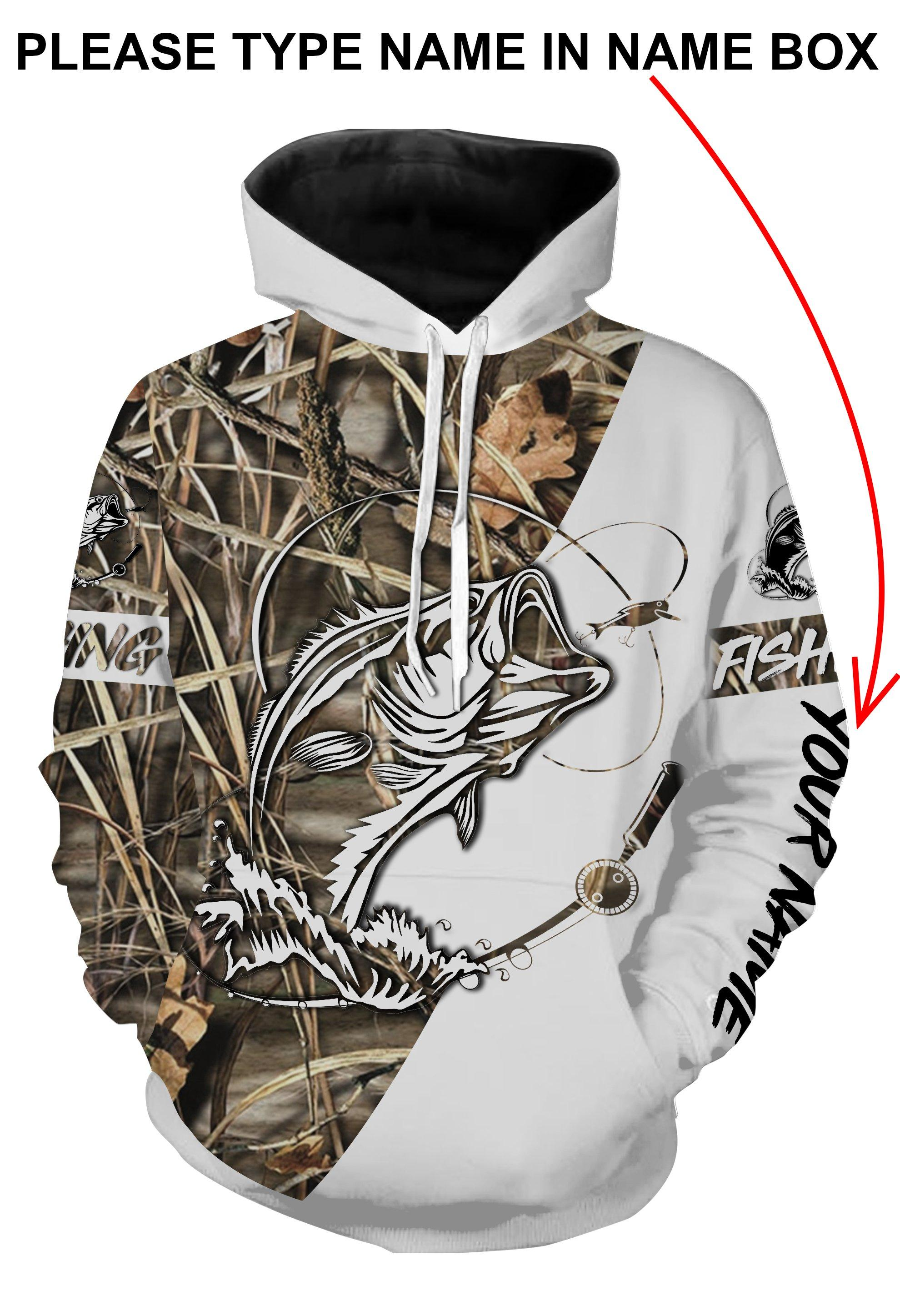 Fishing tattoo personalized all over print hoodie - original