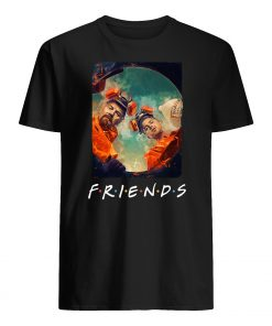 Friends tv show breaking bad art mens shirt