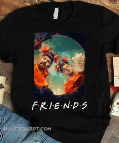 Friends tv show breaking bad art shirt