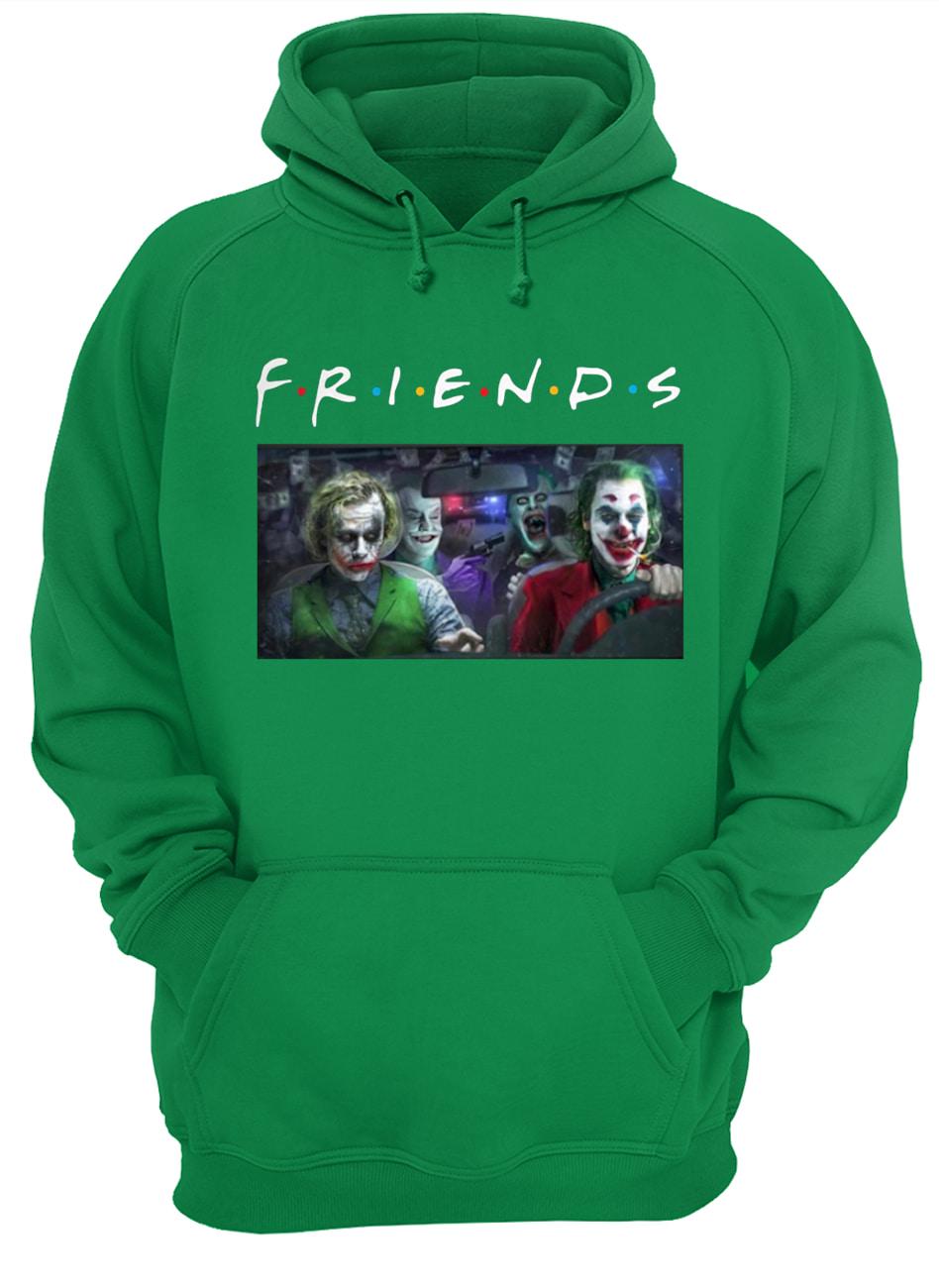 Friends tv show joker all version hoodie