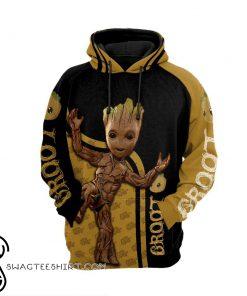 Groot 3d full printing shirt