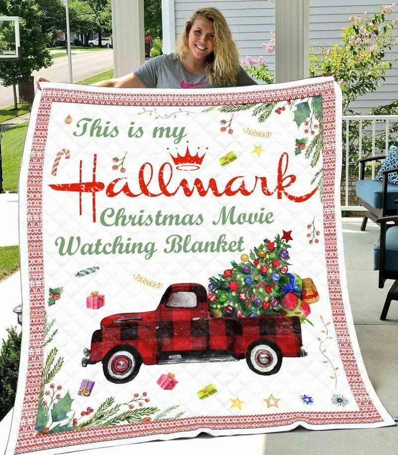 Hallmark christmas movie blanket - twin