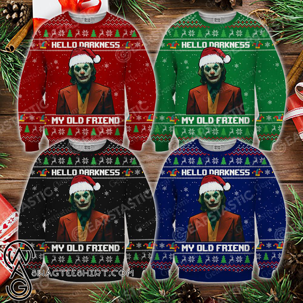 Friends tv show full quotes 3d ugly sweater