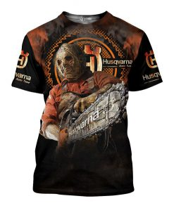 Husqvarna halloween 3d all over printed tshirt