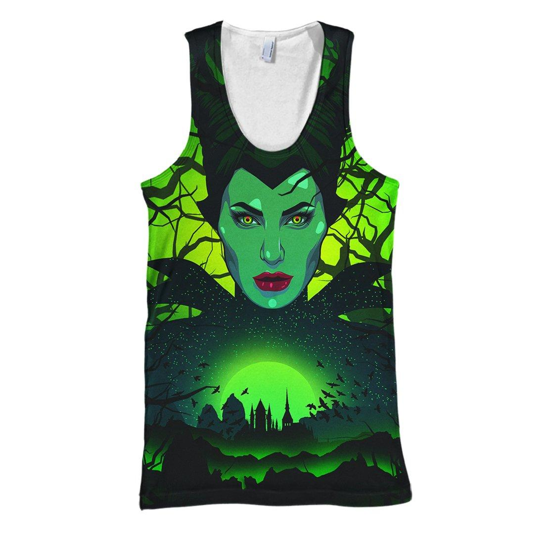 In a world full of basic witches be a maleficent 3d tank top