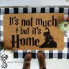 It's not much but it's home harry potter quote doormat
