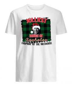 Jolliest bunch of assholes this side of the nuthouse national lampoon's christmas vacation mens shirt