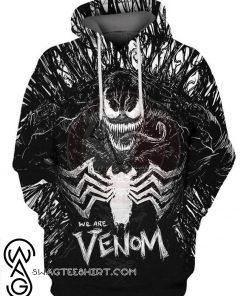 Marvel we are venom 3d hoodie