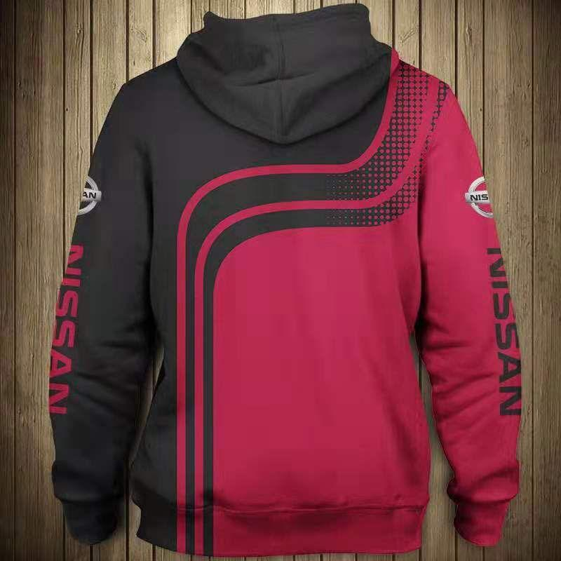 Nissan all over print hoodie 1