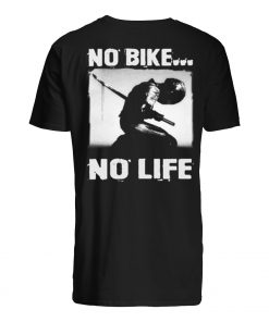 No bike no life motorcycle mens shirt