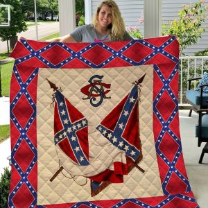 Redneck confederate flag 3d blanket - original