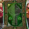 Religion an irish blessing blanket