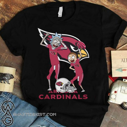 Rick and morty arizona cardinals shirt