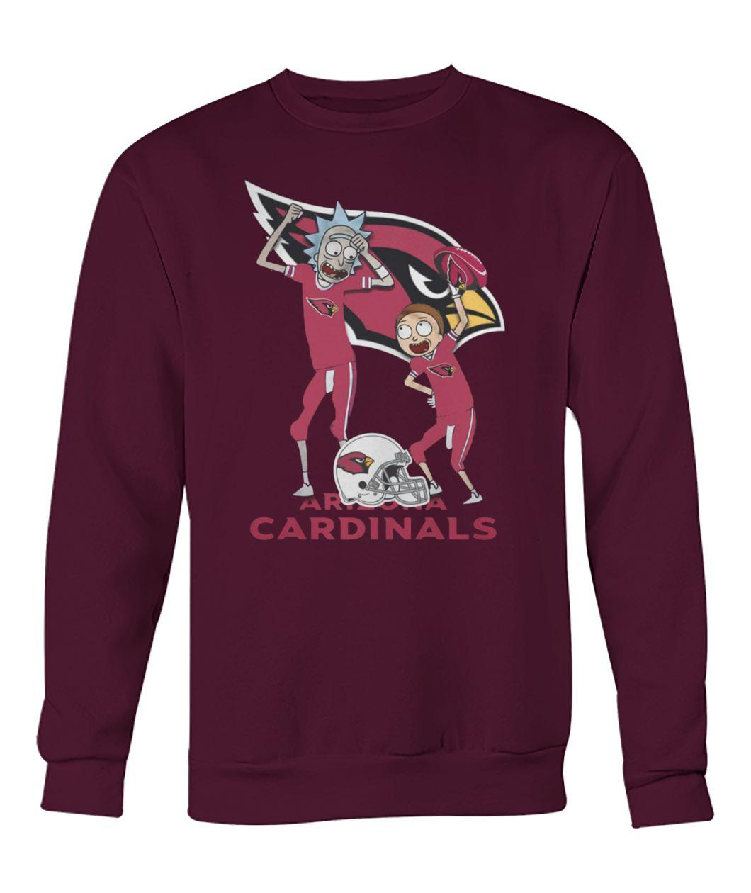 Rick and morty arizona cardinals sweatshirt