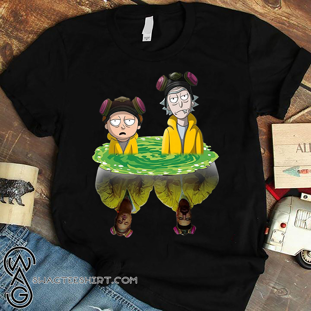 Rick and morty water mirror breaking bad shirt - Copy (2)