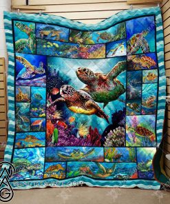 Sea turtle blanket