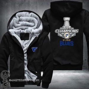 St louis blues stanley cup champions 2019 full printing hoodie