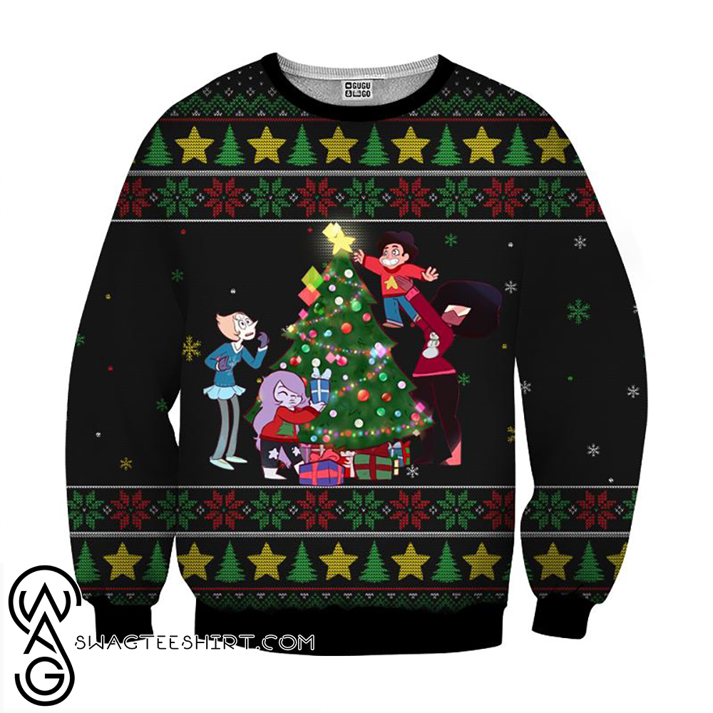 Steven universe the movie christmas 3d ugly sweater