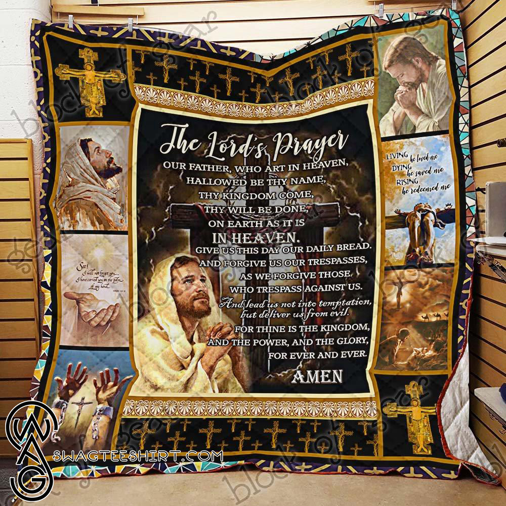 The Lord's prayer quilt