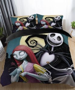 The nightmare before christmas bedding set - 3