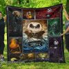 The nightmare before christmas jack skellington quilt