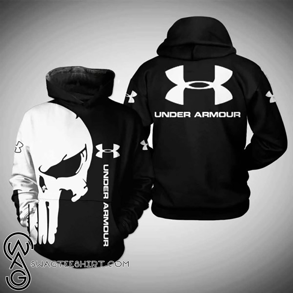 The punisher under armour 3d hoodie