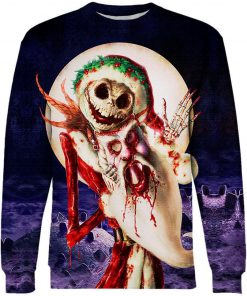 The stuff of nightmares jack skellington 3d sweater