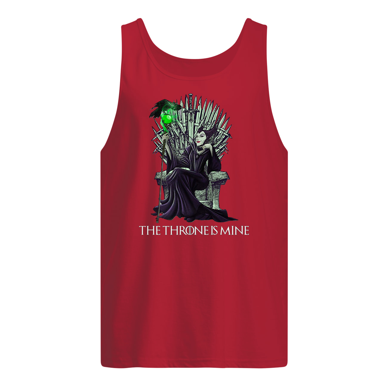 The throne is mine maleficent tank top