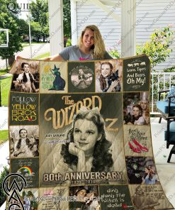 The wizard of oz judy garland 80th anniversary quilt