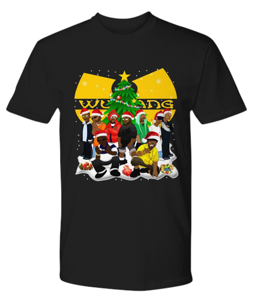 Wu tang clan simpsons christmas premium tee